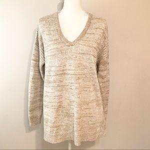 Sweet Romeo Over-sized XL Women's Sweater Oatmeal